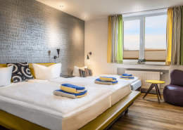 Hotel Langeoog - Langeooger Strandhotel - Achtertdiek Familinzimmer2
