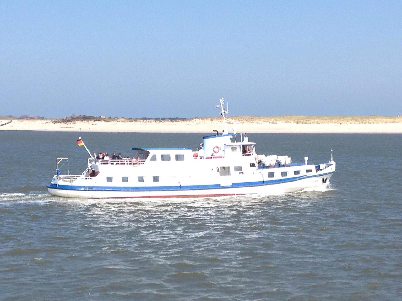 Langeoog Schiffsausflug