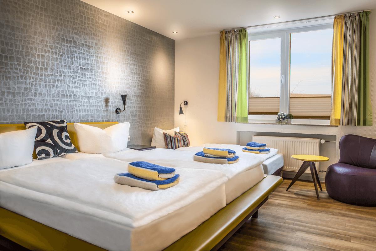 Hotel Langeoog - Langeooger Strandhotel - Achtertdiek Familienzimmer